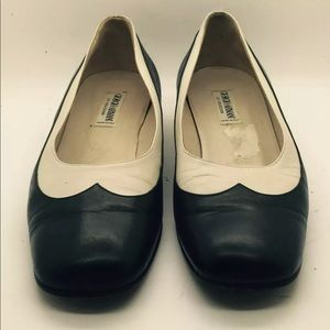 GIORGIO ARMANI Wing Tip Spectator Shoes 8.5M ITALY